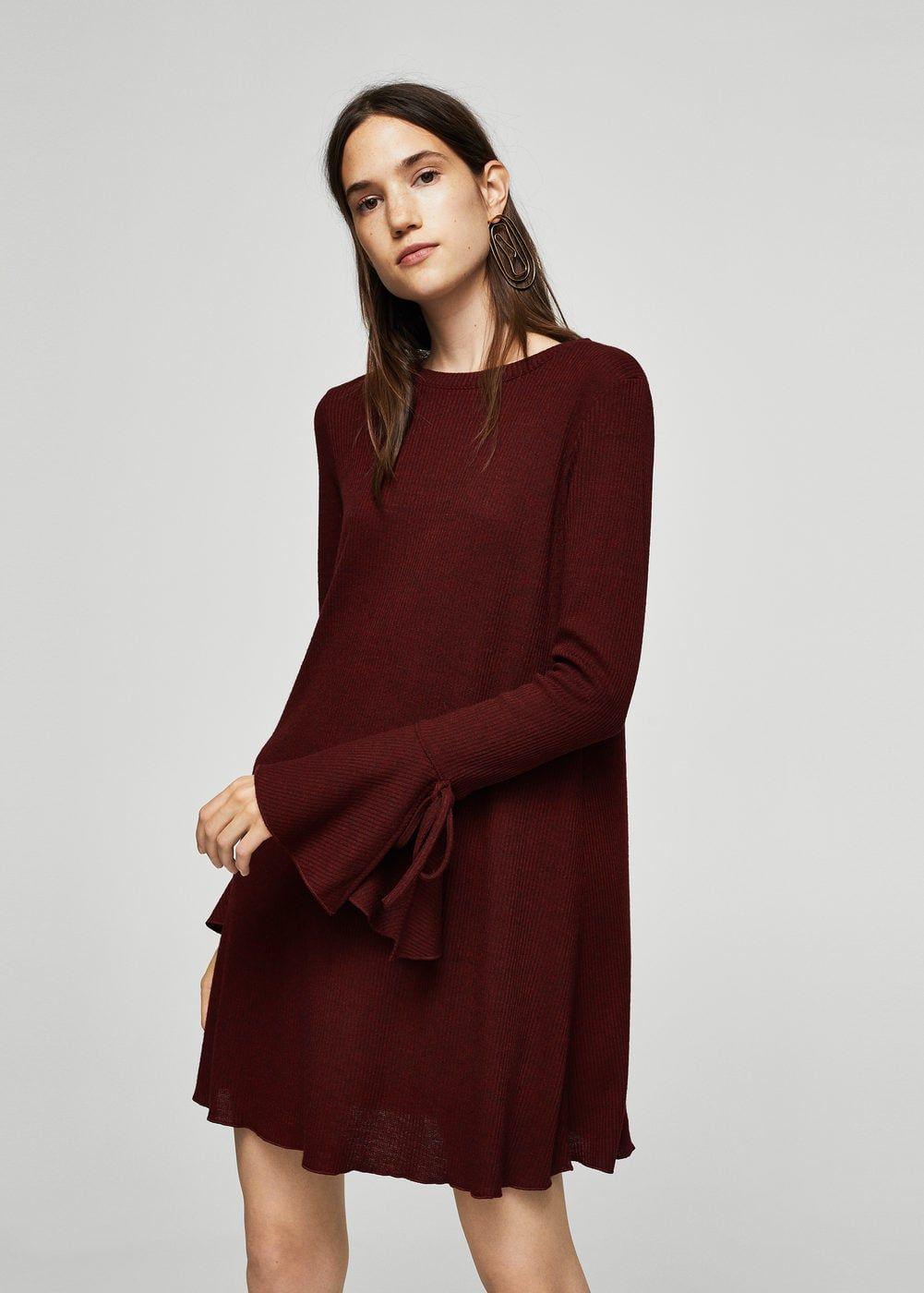 Kleid mit ärmel-detail - Damen   office summer clothes   Kleider ... bdd2fc2b20