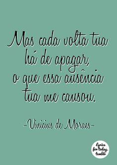 Vinicius De Moraes Frases De Musicas Frases Interessantes