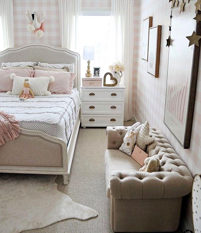 Darling Little Girl S Room Small Girls Bedrooms Small Room Bedroom Girl Bedroom Decor