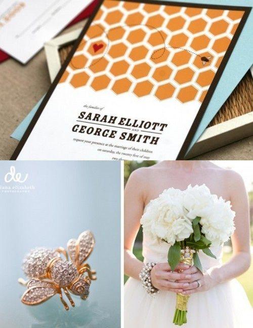 Invite Honey Wedding Bee Wedding Bee Wedding Theme