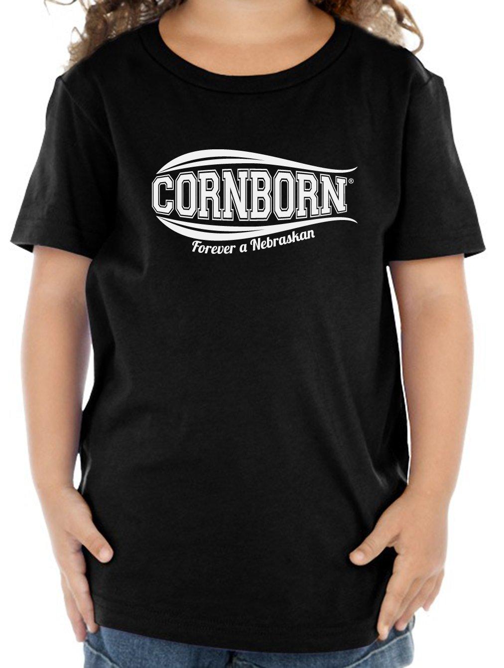 Nebraska Toddler Tee Cornborn Forever A Nebraskan Toddler Tee Shirt Toddler Tees Tee Shirts [ 1342 x 1012 Pixel ]