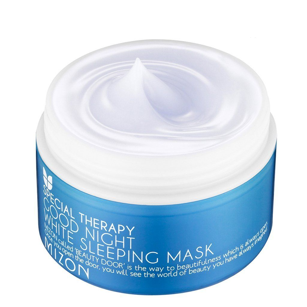 KOREAN COSMETICS, MIZON_ Good Night White Sleeping Mask 80ml (sleeping pack, whitening, hydrating, skin protective layer) [001KR] >>> You can get additional details at the image link.