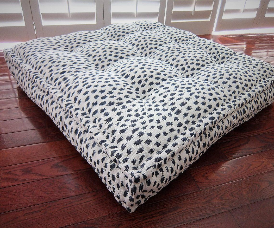 Oversized Floor Cushion With French Mattress Quilting Large Etsy Large Floor Pillows Large Floor Cushions Oversized Floor Pillows