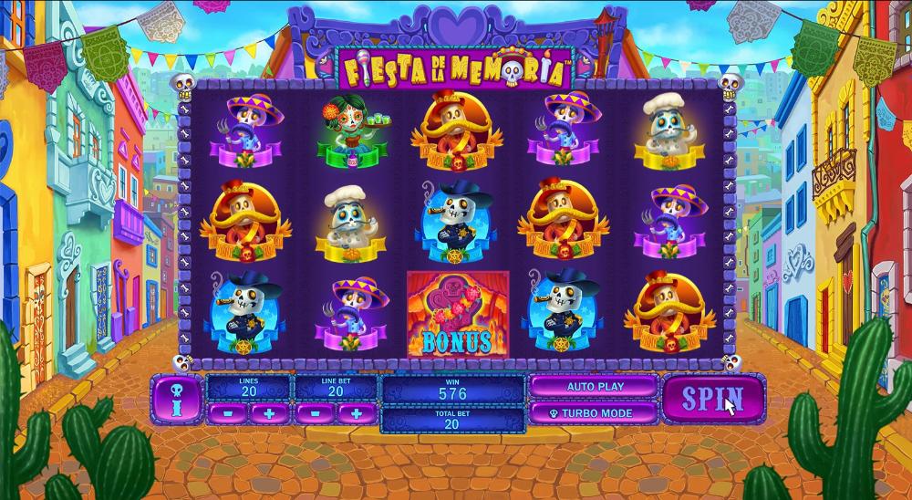 Fiesta De La Memoria Slot Machine