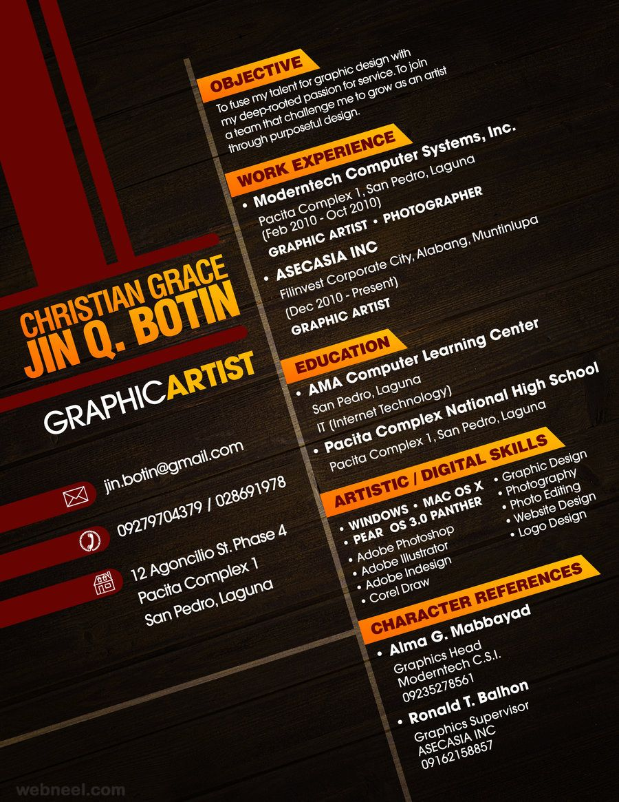 Image result for resume layout cool