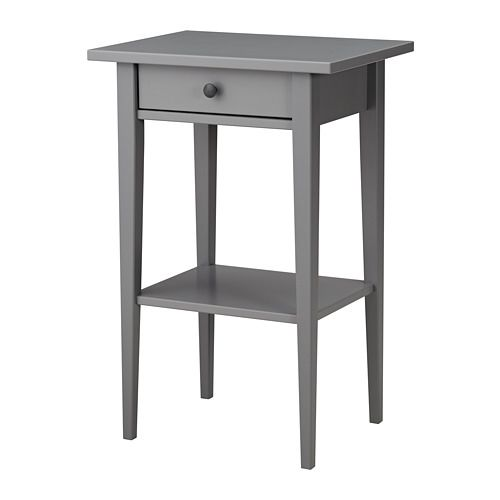 Bedside Table Hemnes Grey тумбы Hemnes Bedside Table