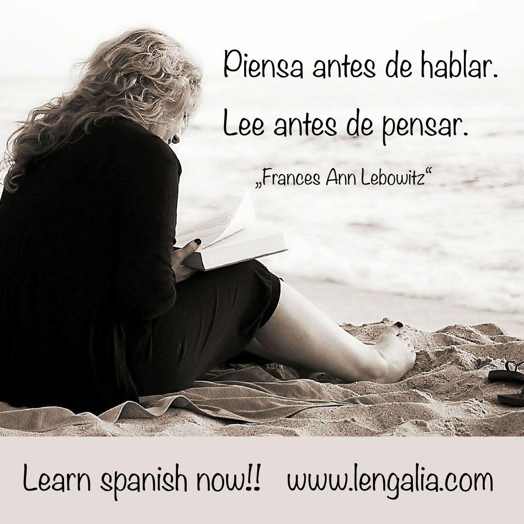 Zitat Spanisch
