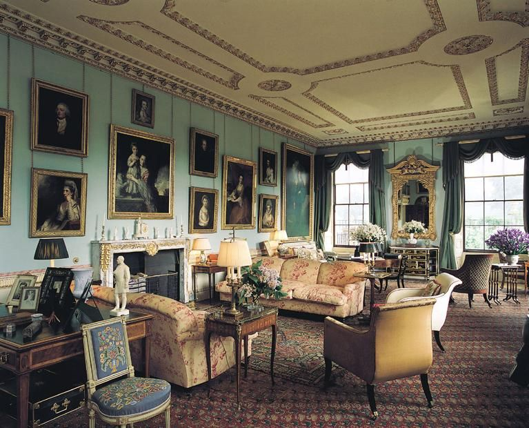 Interior of althorp house
