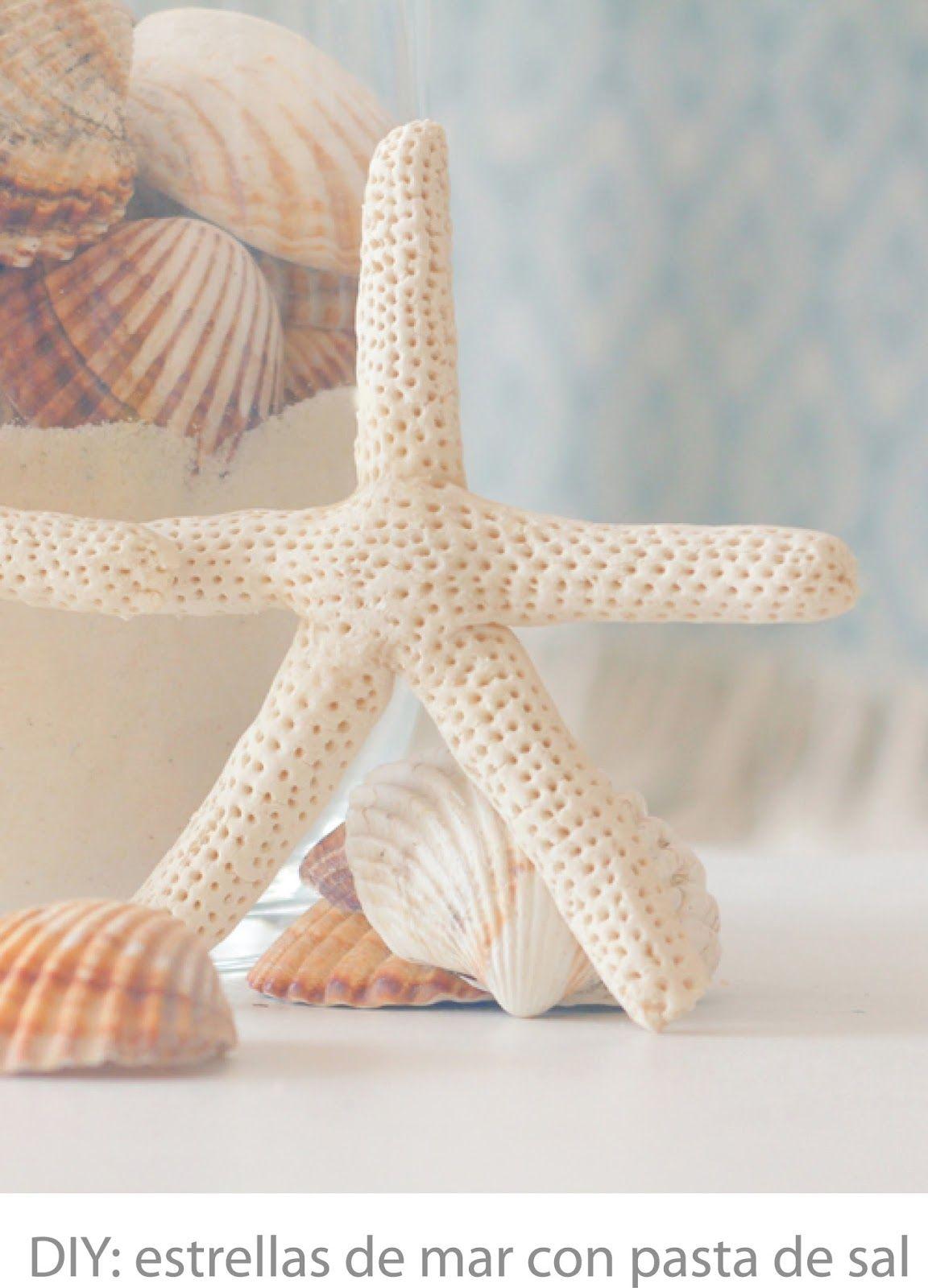 Como Hacer Pasta De Sal Para Modelado Arcilla O Plastilina Casera Estrella De Mar Manualidades Diy