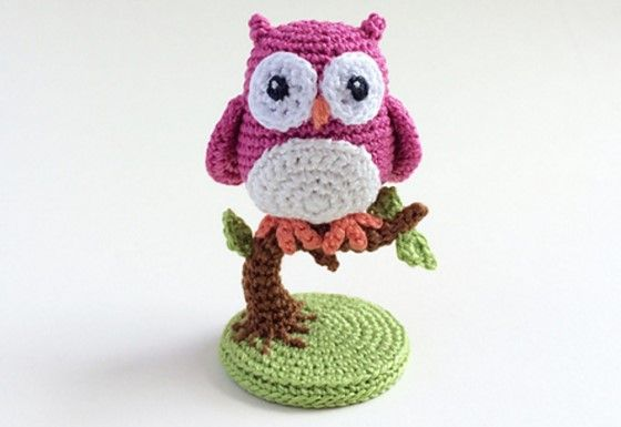 More Than 30 Crochet Owl Patterns All Free and Amazing | 385x560