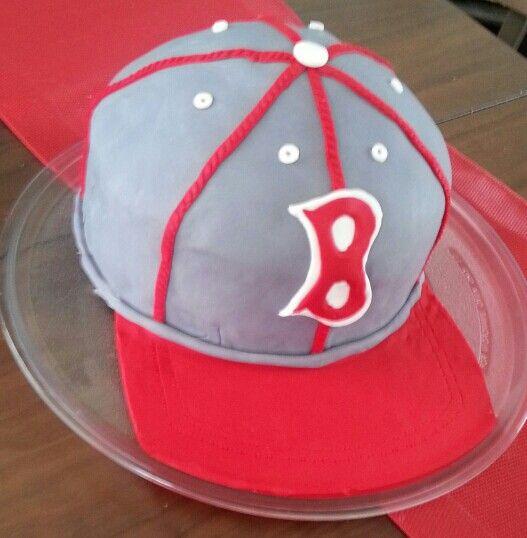Baseball Cap Cake.
