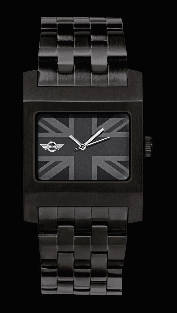 Mini Cooper Black Jack Watch With Wing Logo Perfect Gift For Him