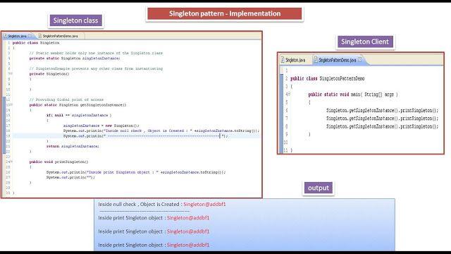Java Ee Singleton Design Pattern Implementation Software