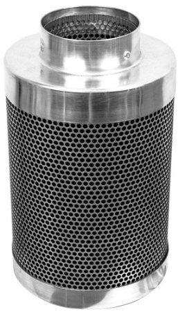 Phresh Filter 701003 200 Cubic Feet Per Minute Carbon Air Filter 4 By 12 Inch Carbon Air Filter Cubic Foot Air Filter