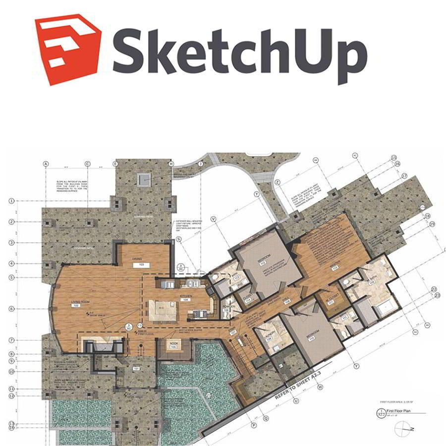 3D Modeling using SketchUp Pro for 3D Designers and