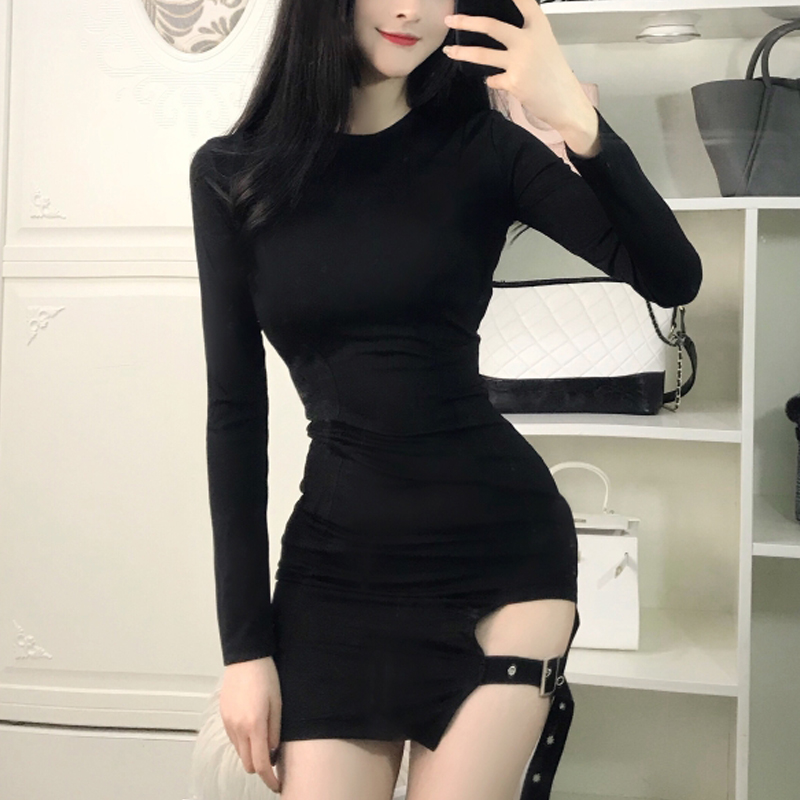 a395c88724a Korean sexy strap skirt night dress SE11029 hana 10% off at  sanrense  Fashion