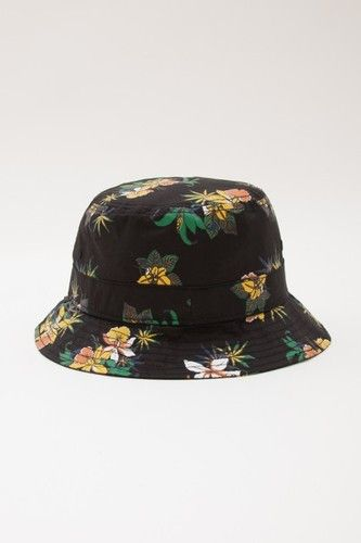 7b5b350dea3 OBEY - Sativa Floral Bucket Hat