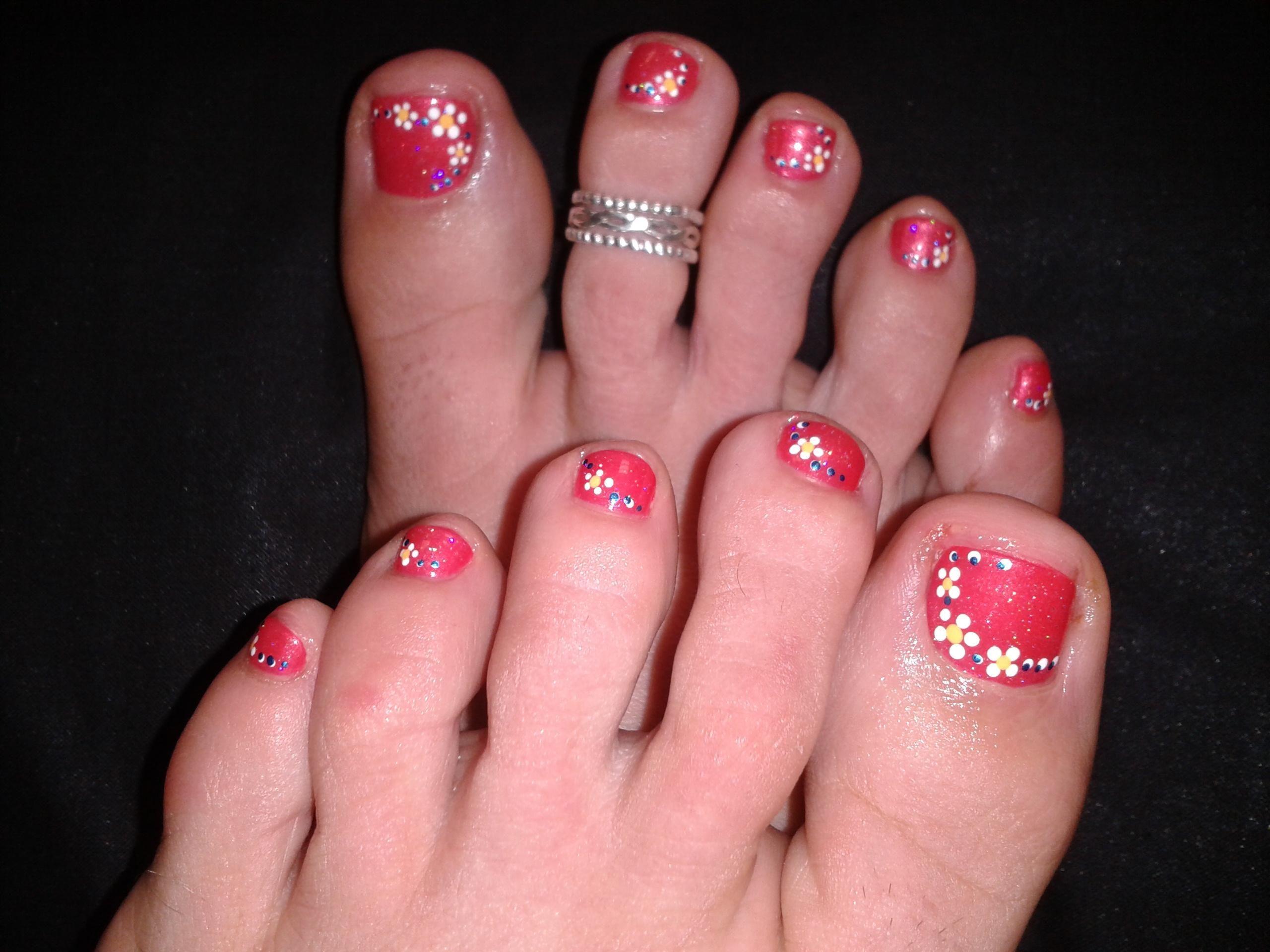 Pin By Heather Merwin On Nail Art Toe Nail Art Toe Nails Nail Art