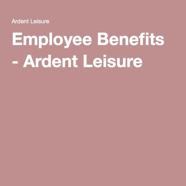 Employee Benefits - Ardent Leisure Benefits - Bean Sprouts