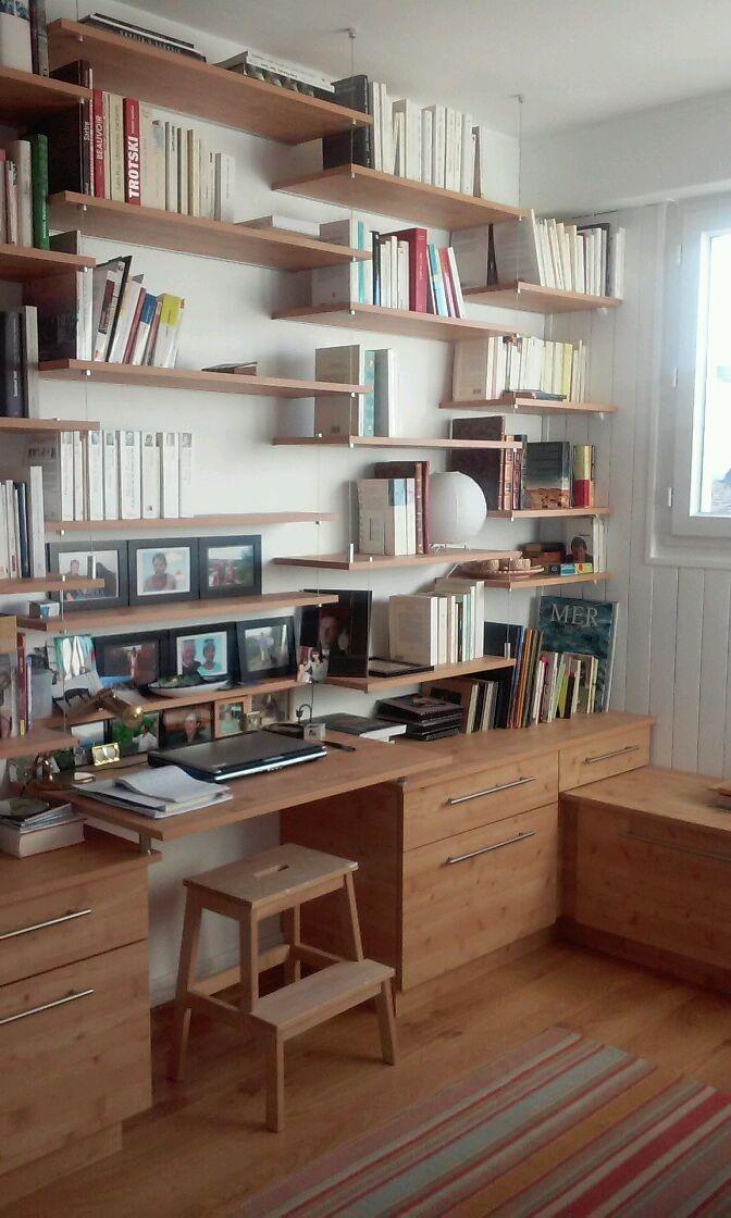 biblioth que suspendue arzelstudioarchitecture casas. Black Bedroom Furniture Sets. Home Design Ideas