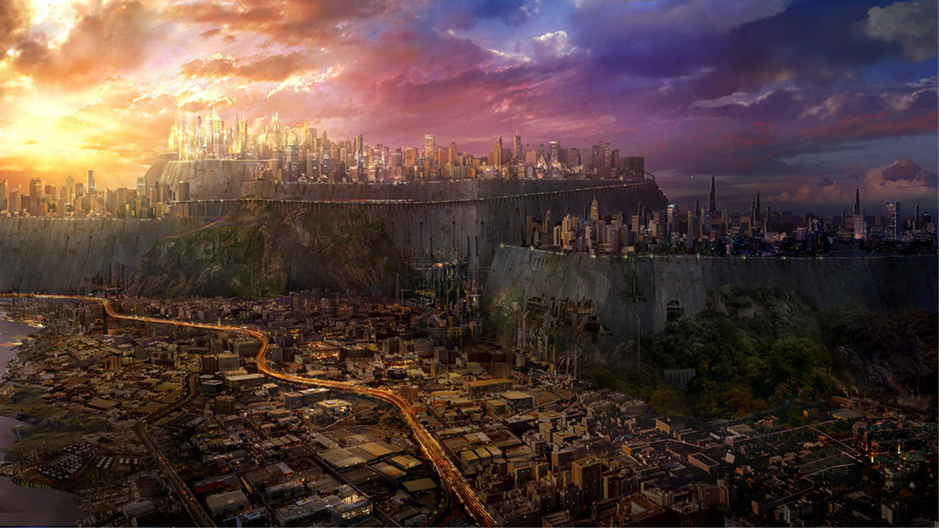 4k Futuristic Wallpaper Google Search Fantasy City Futuristic City City Wallpaper