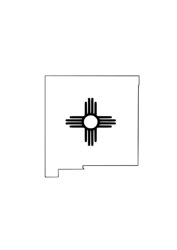New Mexico Zia Svg File Iron On Vinyl Svg Svg File
