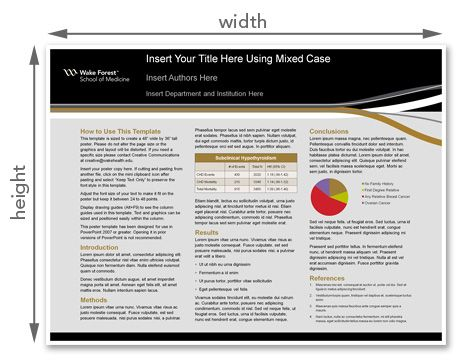 Wake Forest Baptist Medical Center PowerPoint Large Format ...