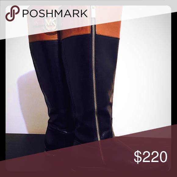 Micheal Kors boots Great condition! Stockard model. Michael Kors Shoes Winter & Rain Boots