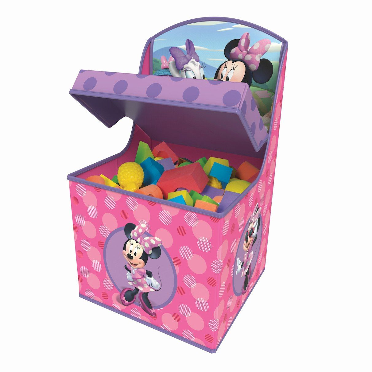 Disney Junior Minnie Mouse Tidy Town Jumbo Chair Storage