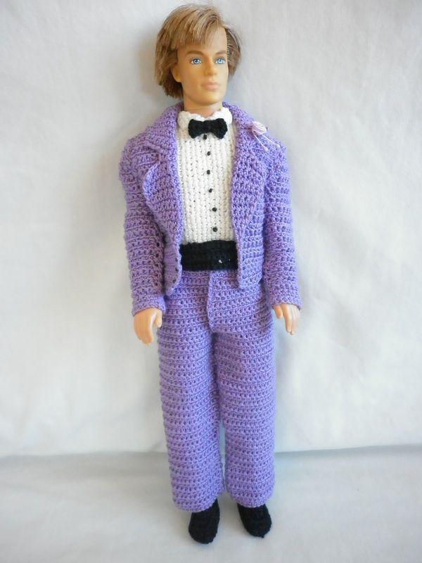Little Miss\' Crochet Barbie Wedding - Groom | My Barbie Crochet ...