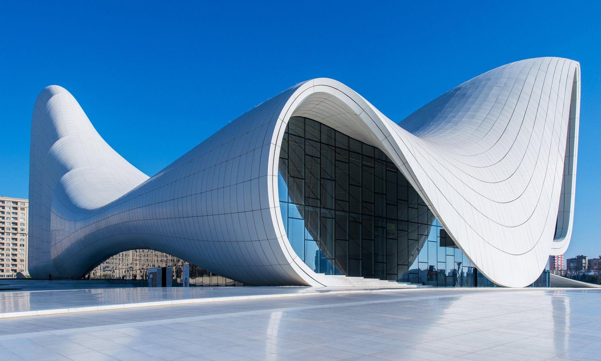 Whoosh Factor The Heydar Aliyev Centre In Baku Azerbaijan Zaha Hadid Zaha Zaha Hadid Architects