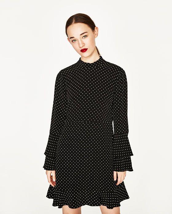Pinterest Vestito Mini 2 Immagine Vestiti Di Zara Pois FqYwaw