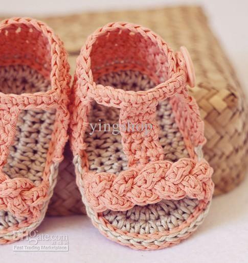 Crochet sandalias baby patrones - Imagui   zapatos   Pinterest ...