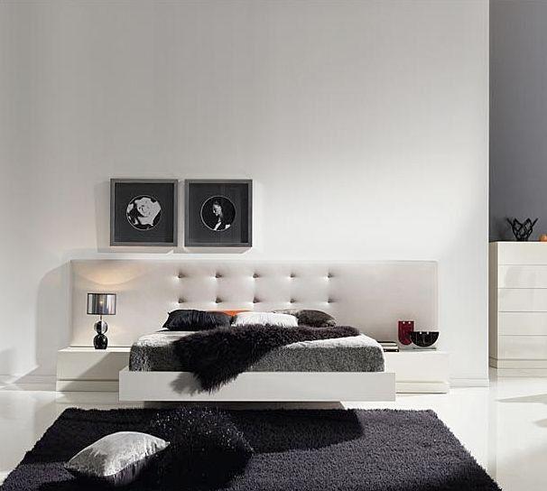 tete de lit contemporaine pour lit double tetes de lit pinterest bedroom boys bedrooms. Black Bedroom Furniture Sets. Home Design Ideas