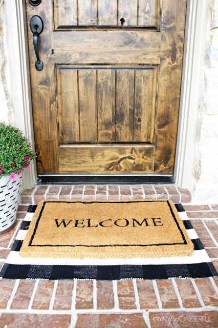 I Hope Everyone Had An Amazing Thanksgiving Ours Was Nice And Easy At Home This Year Just Us And The Kids I Still Mad Door Mat Front Door Mats Front Door