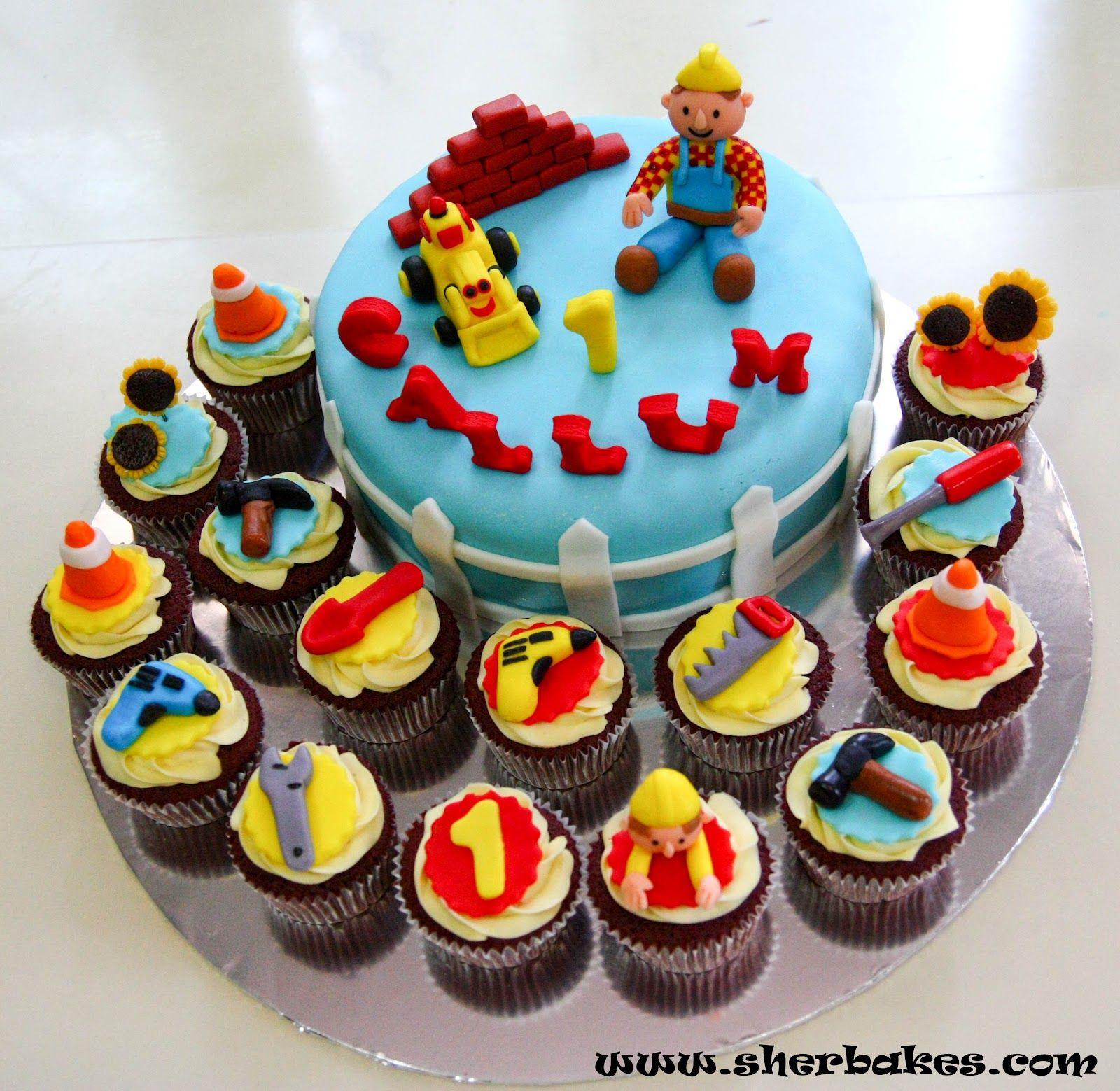 Bob the Builder Cake Birthday cake Pinterest Cake Birthday