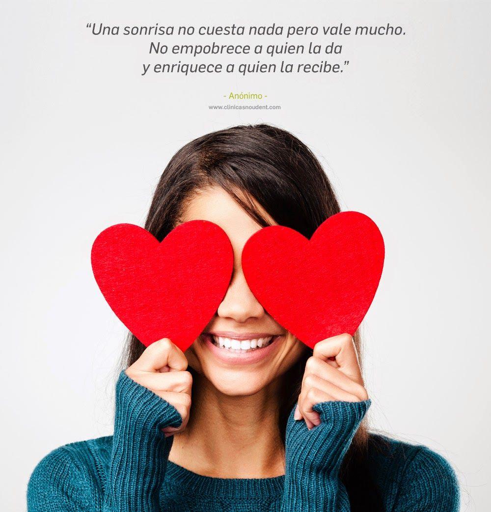 Cita sonrisa. Corazón. Cuida tu sonrisa. Clínicas Nou Dent. Dentistas profesionales de calidad.