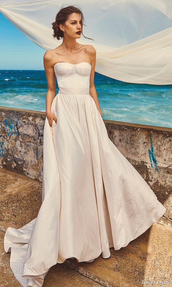 "elbeth gillis 2017 wedding dresses — ""milk and honey"" bridal"