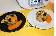 Pastel de mijo y verduras con Thermomix, recetas Thermomix