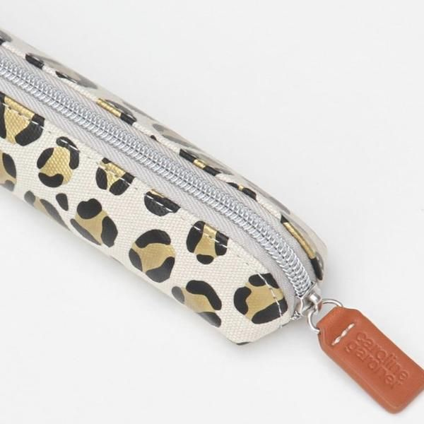 Photo of Leopard Print Pencil or Brushes Case