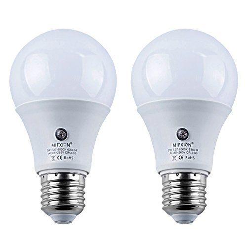 Led Sensor Bulbs Topchances 2pcs 7w E27 Dusk To Dawn Smart Led Light Bulb Energy Save Automatic Sensor Ball Lamps 4000kn Bulbs Energy Ball Lamps Led Light Bulb