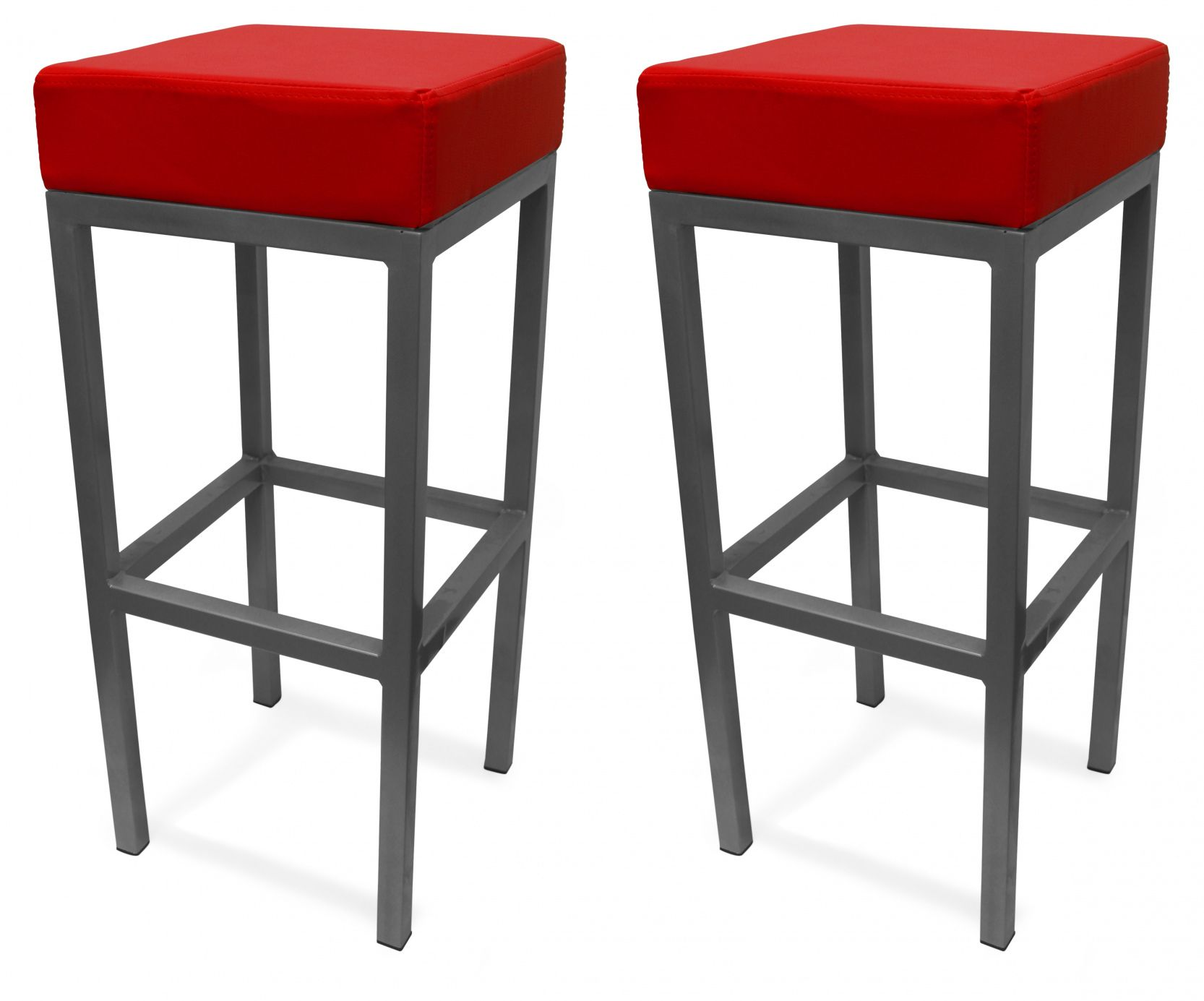 77 Red Leather Bar Stools with Back Modern Rustic Furniture Check