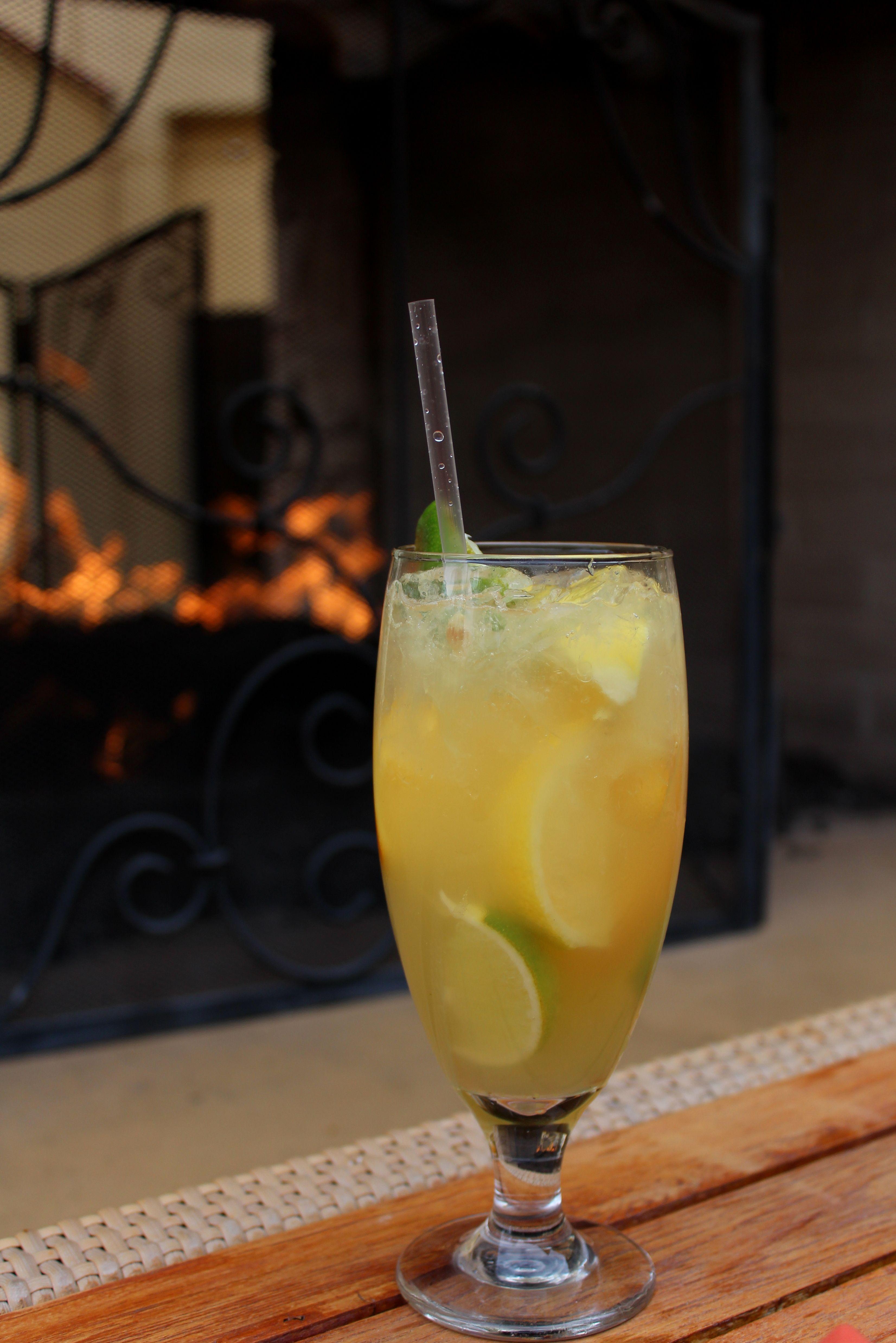 NECTARITA Recipe  * Lime, lemon, orange slice * 1.5 oz tequila * Fresh lime juice * Dash of agave nectar  * Shake on the ROCKS and voilà! Enjoy!