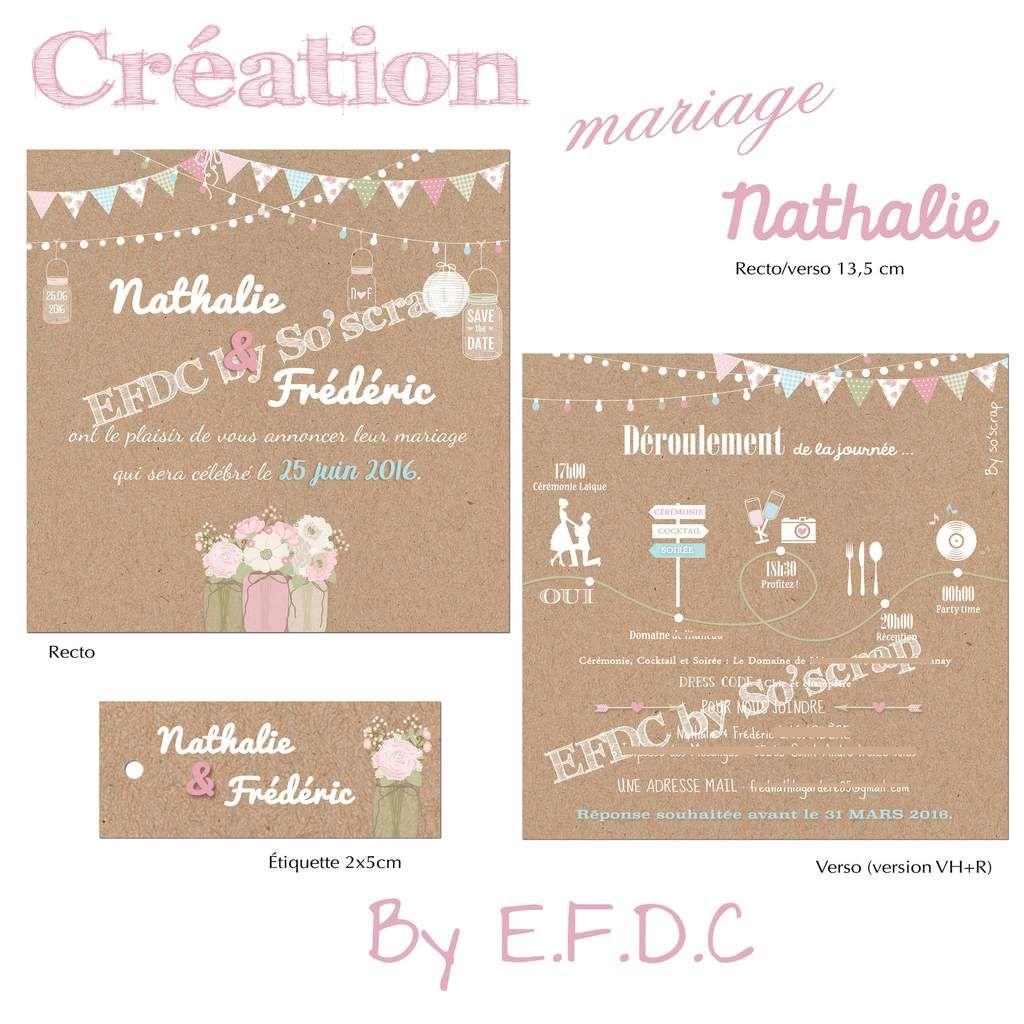 plus de 1000 ides propos de faire part naissance mariage baptme efdc by soscrap sur pinterest - Texte Faire Part Mariage Champetre