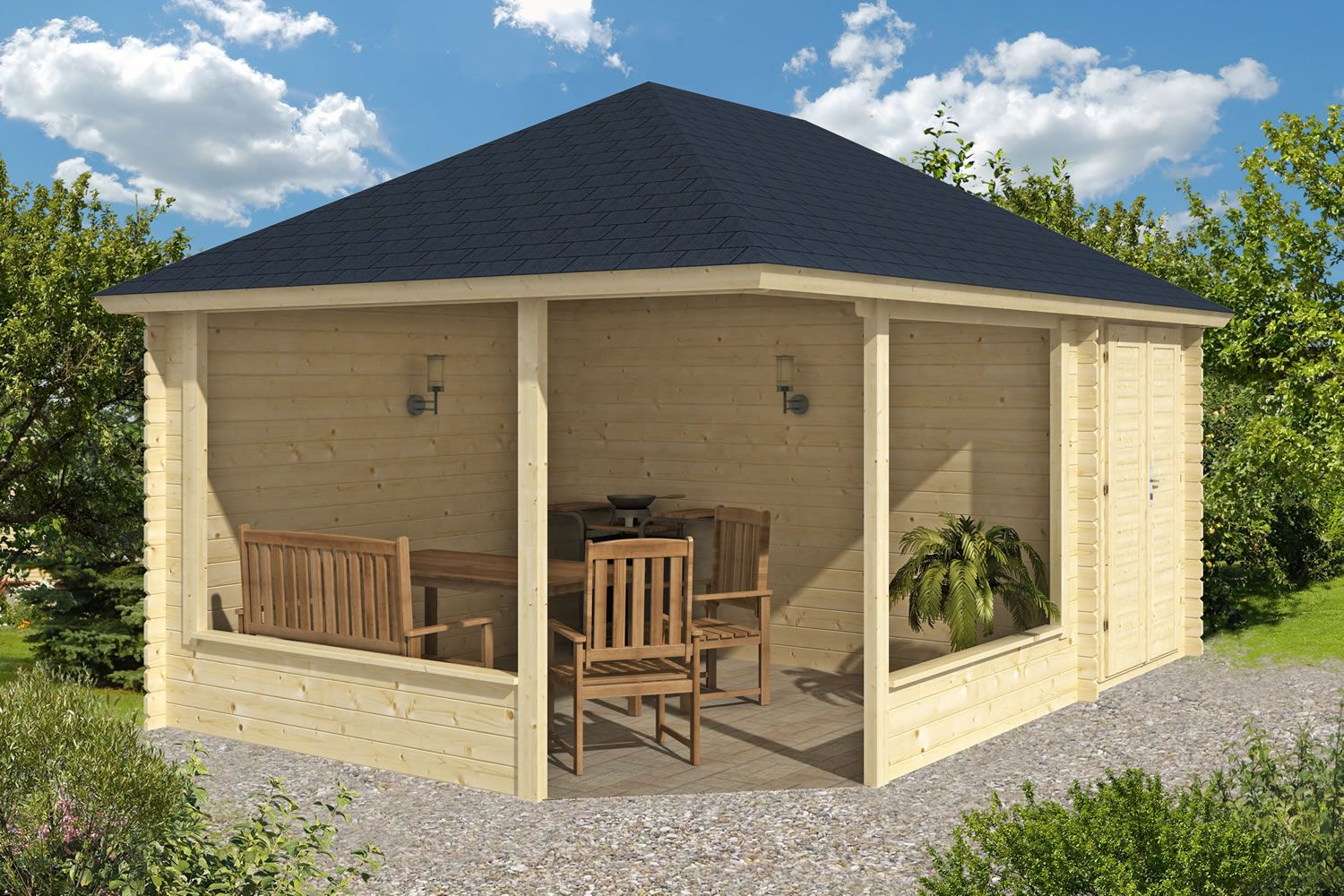 Download Free Gazebo Plans Another Plan And Find The Best Plan That You Like Wooden Garden Gazebo Gazebo Garden Gazebo