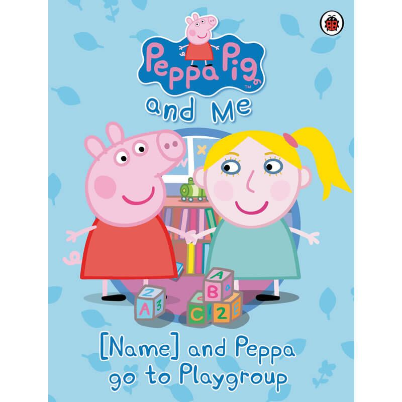 Penwizard personalised peppa pig your child and peppa oink oink its your childs