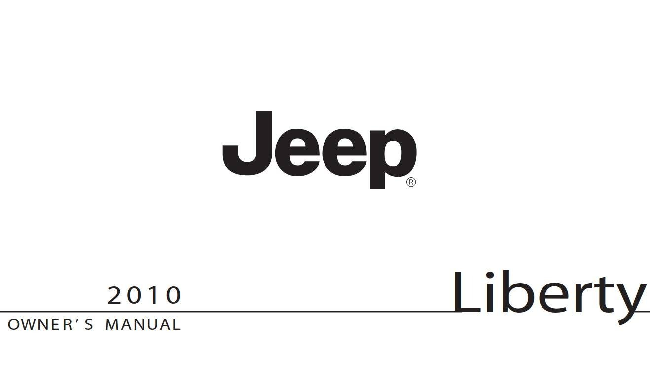 Jeep Liberty 2010 Owner's Manual has been published on