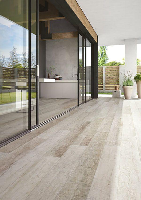Descubre la mejor imitaci n a madera en gres porcel nico - Pavimento exterior imitacion madera ...