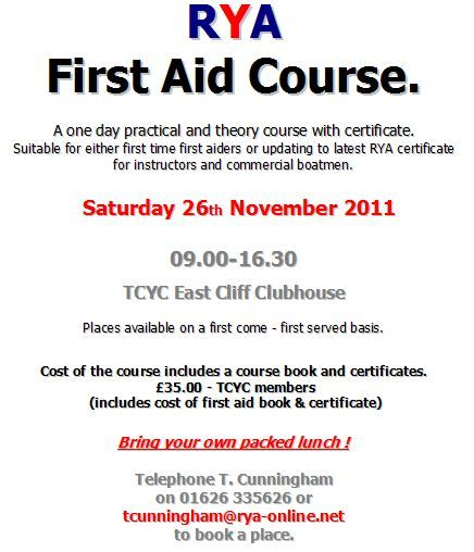 Sample Of First Aid Certification Test  First Aid