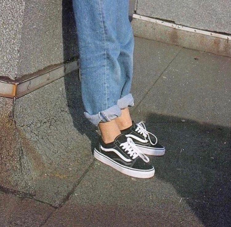 Sneakers femme Vans Old Skool (©andicsinger) #streestyle